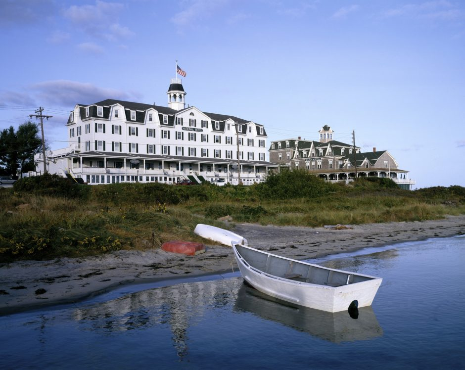 old Hotel on the water