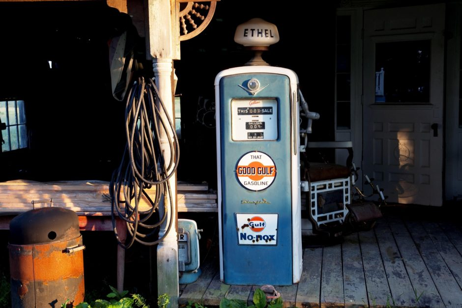 old Petrol Station in Alabama