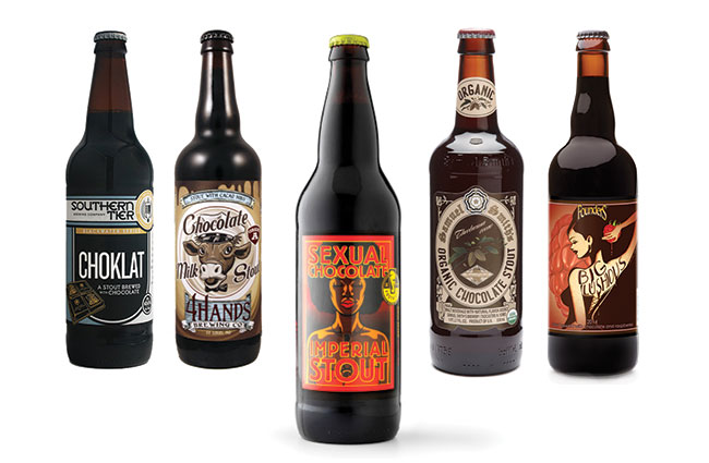 various Chocolate Beers