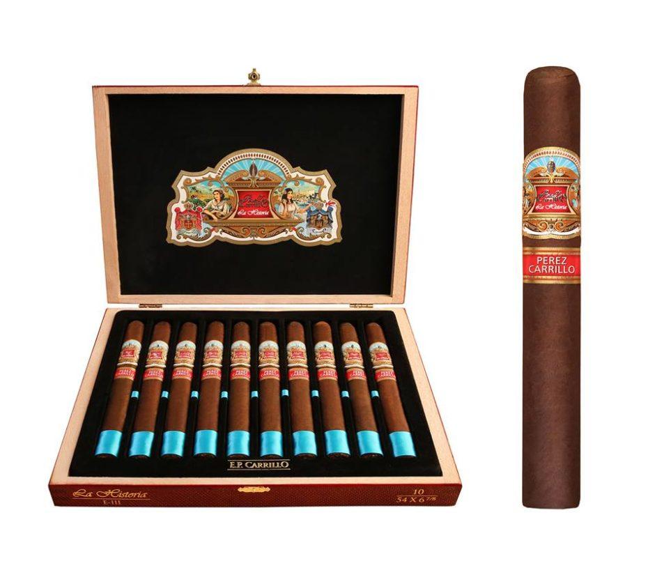 La Historia Cigars box by E.P. Carillo