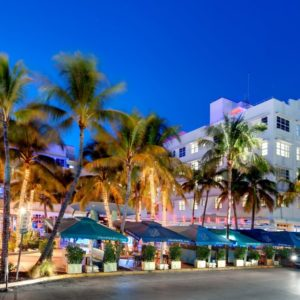 Clevelander South Beach hotel, front view