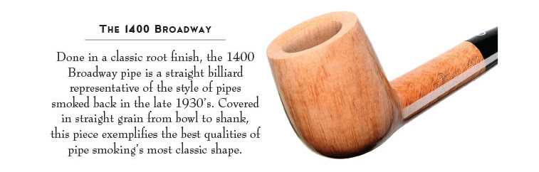 Nat Sherman 85th Anniversary Pipes