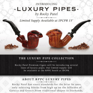 Rocky patel luxury Pipes ad