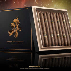 Johnny Tobacconaut cigars and box by Room 101