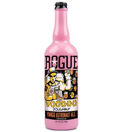 Rogue Ales' Voodoo Doughnut Mango Astronaut Ale
