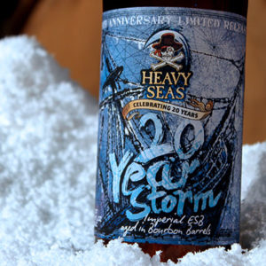 Heavy Seas 20 year storm beer