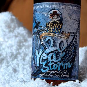 Heavy Seas 20 year storm beer