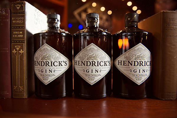 Hendrick's Gin three bottles