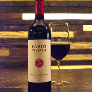 Fabio Vivani wine and glass