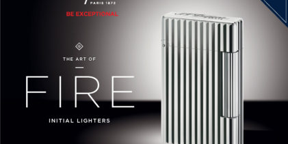 Press Release: S.T.Dupont's New Initial Lighter
