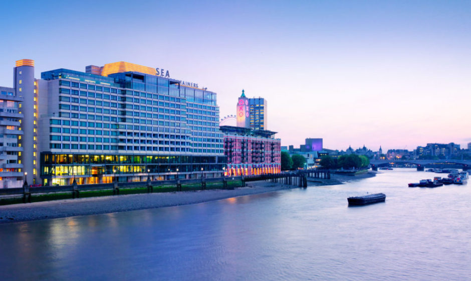Mondrian hotel in london on the thames