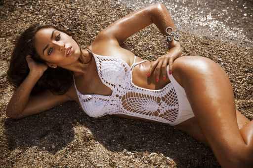 sexy woman in bikini in Cabo