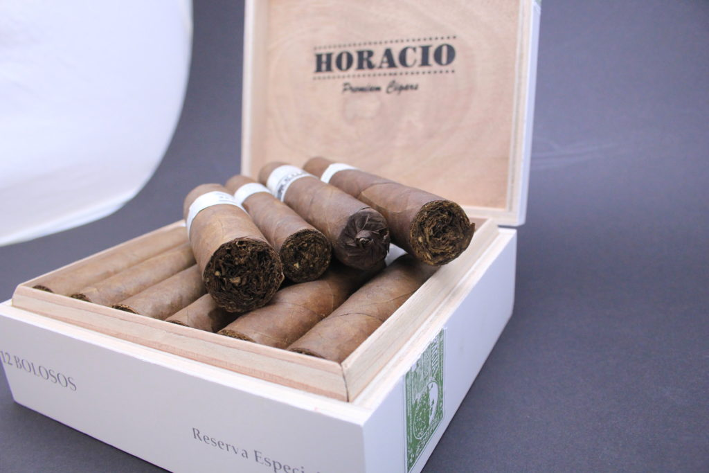 Horacio Cigars box and cigars