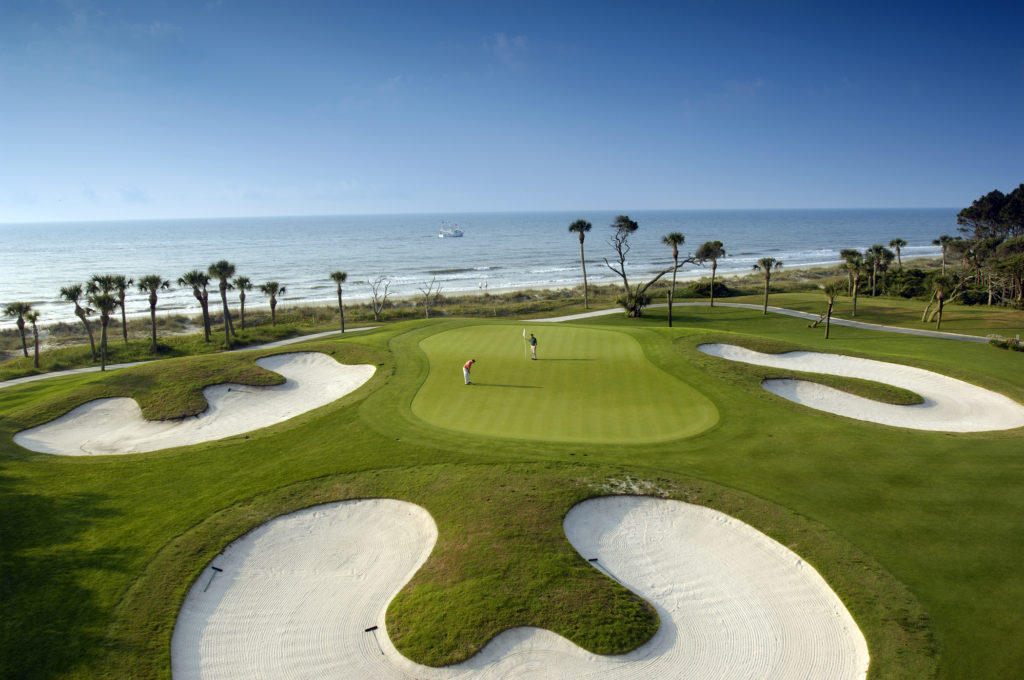 Palmetto Dunes - Robert Trent Jones Course at Hilton Head Island by the ocean