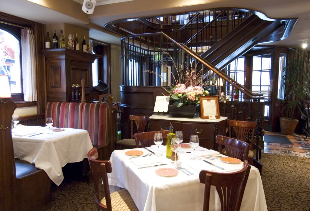 Interior of Tulio's in Seattle