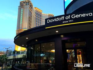 davidoff cigar bar in Vegas outside