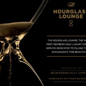 Hourglass Lounge by Davidoff ad