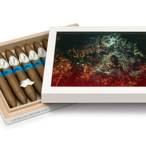 davidoff limited edition art release box and cigars