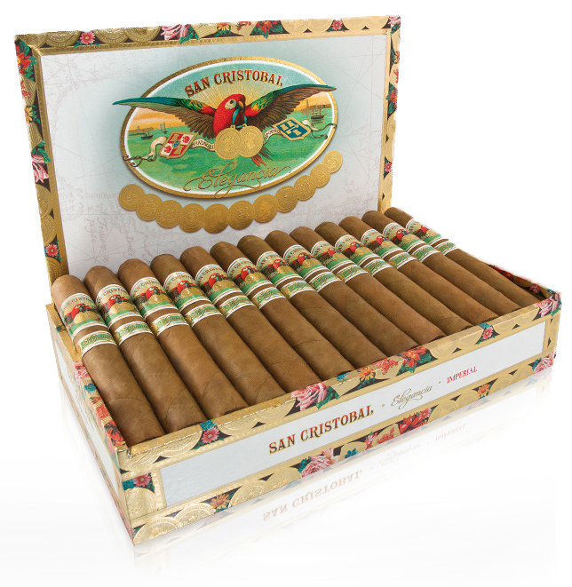Box of San Cristobal Cigars elegancia