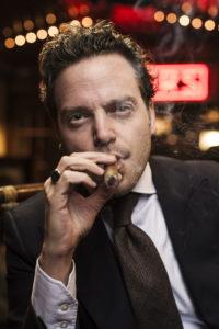 michael herklots nat sherman smoking close up