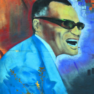 ray charles mural in seattle
