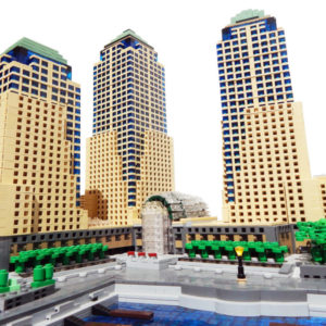 Lego Buildings, cityscape