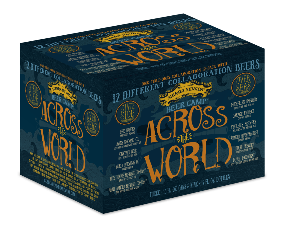 Sierra Nevada Beer Camp across the world 12 pack