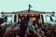 Carolina Rebellion Papa Roach performing