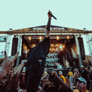 Carolina Rebellion Papa Roach performing