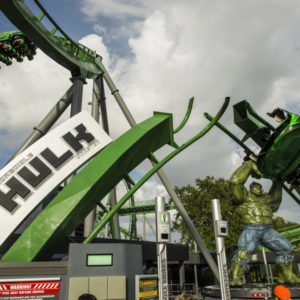 Universal Studios Islands of Adventure Hulk roller coaster