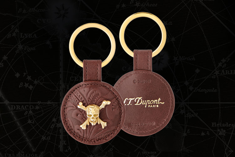 st dupont pirates keyring davidoff