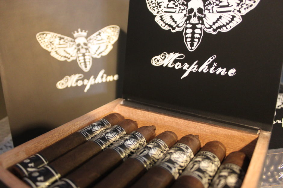 Morphine Cigars with logo