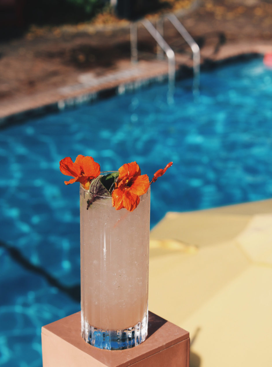 Ron Barcelo Pretty Girl Mojito by the pool
