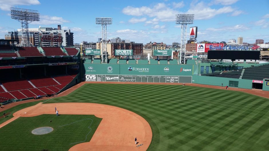 Fenway park in Boston, Massachusetts
