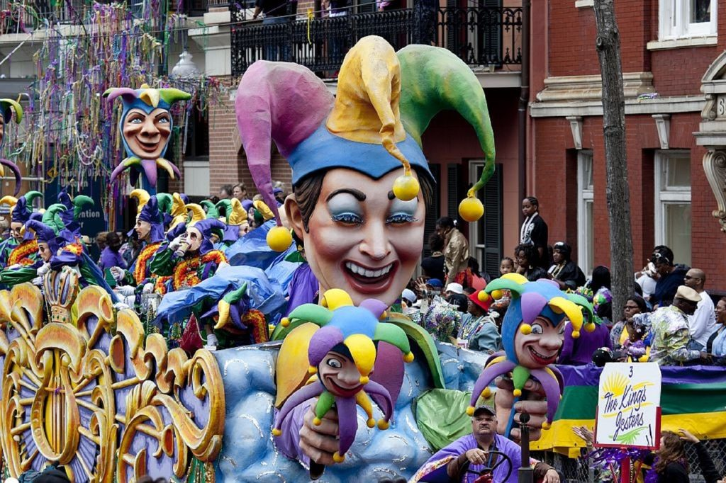 Vacations: Mardi Gras floats in New Orleans