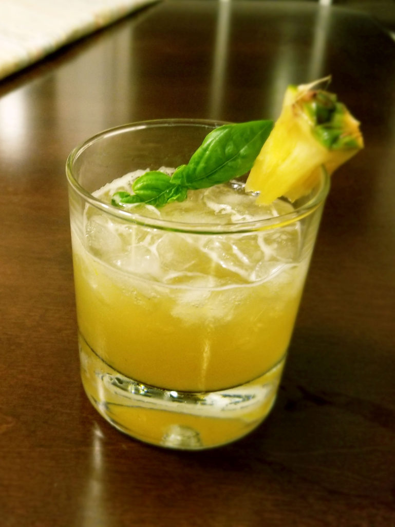VERACRUZANA drink made with tequila with pineapple