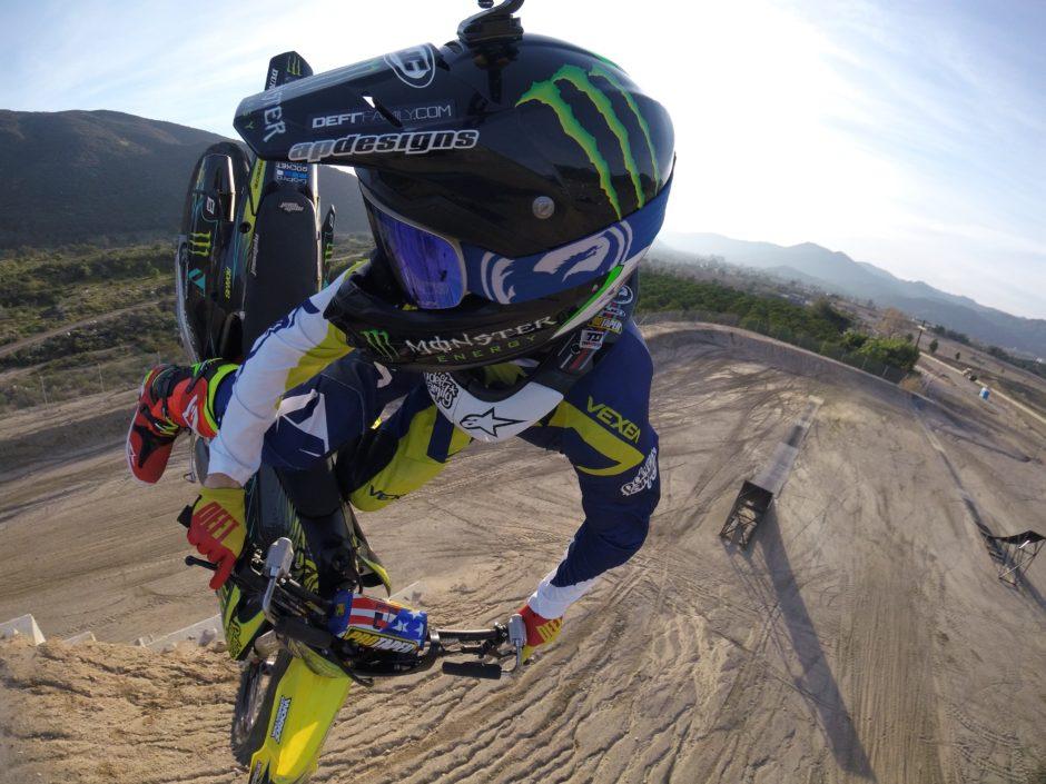 xgames nate motocross mid jump