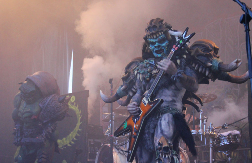 gwar warped tour