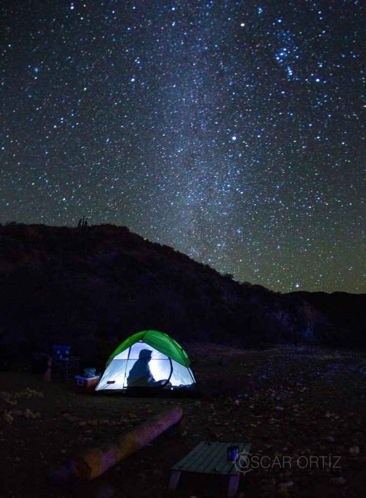 camping under the stars cabo expeditions