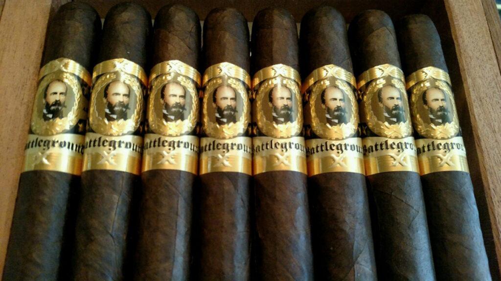 battleground cigars close up