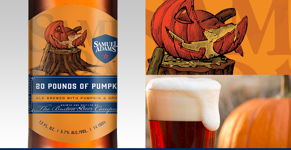 samuel adams 20 pounds of pumpkin