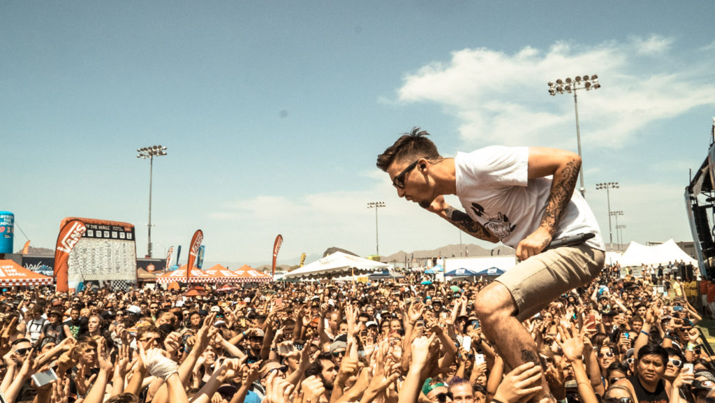 We Came as romans Kyle Pavone performing