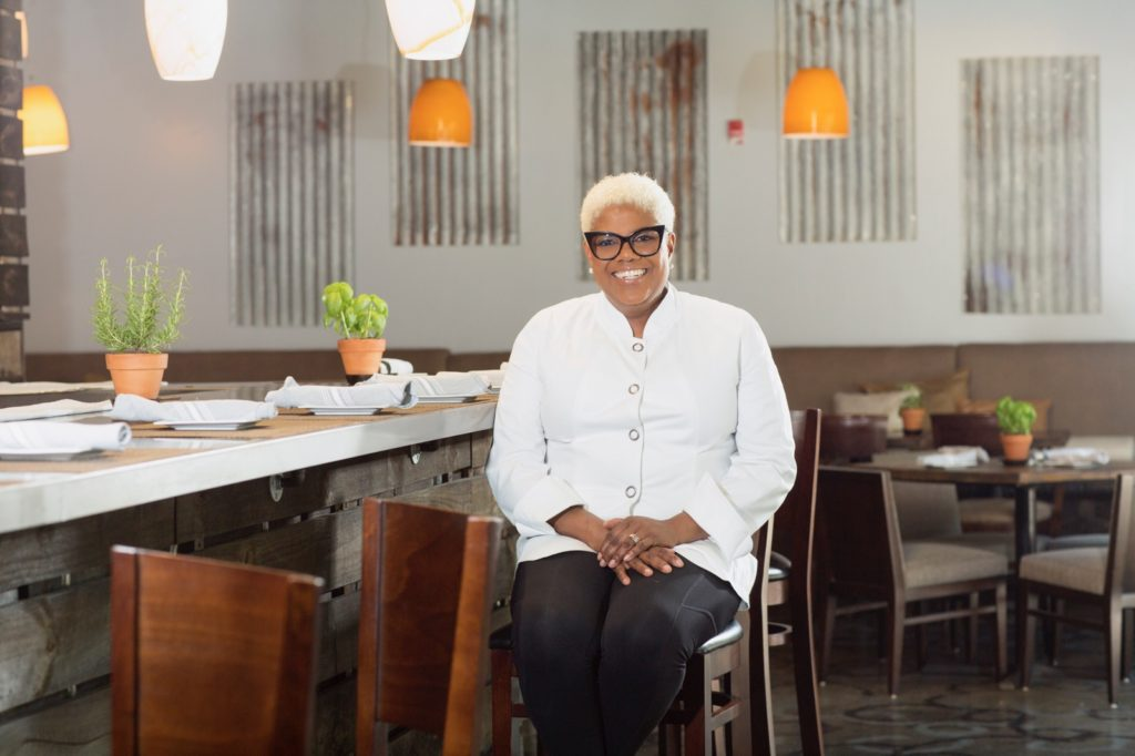 Chef Deborah VanTrece of Twisted Soul Cookhouse and Pours