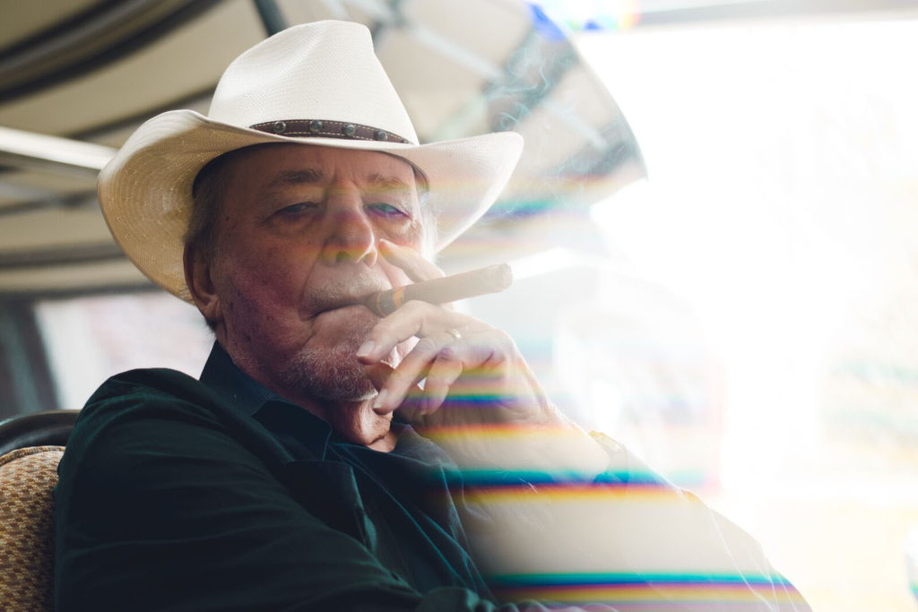 bobby bare smoking a cigar 2