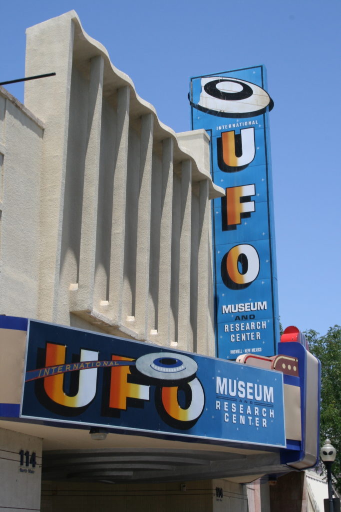 The Extraterrestrial Highway ufo museum
