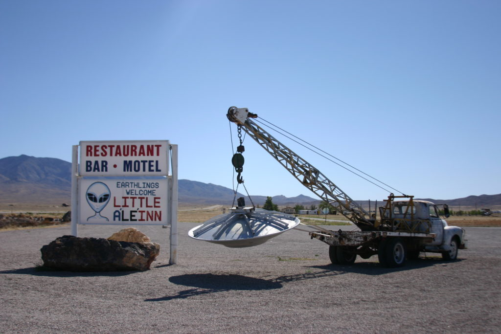 The Extraterrestrial Highway Rachel, Nevada