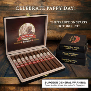 Pappy van winkle tradition cigars drew estate