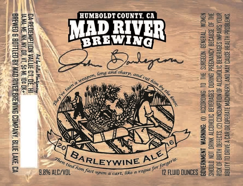 Barley wine mad river review logo