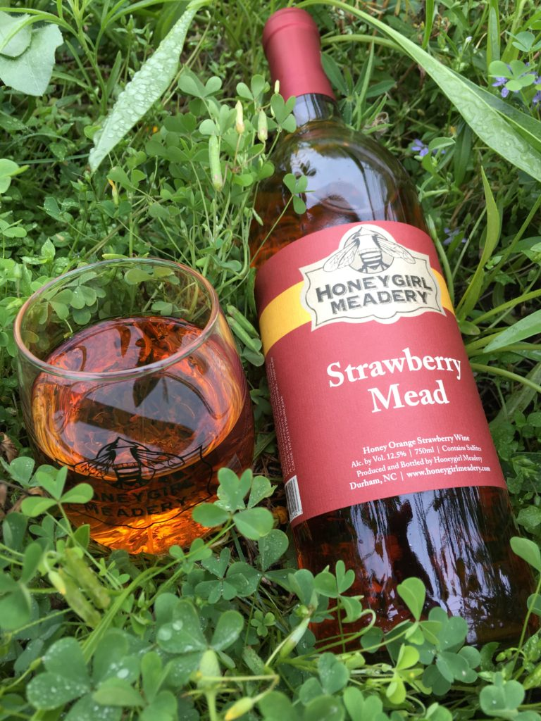 mead strawberry in the grass honeygirl meadery