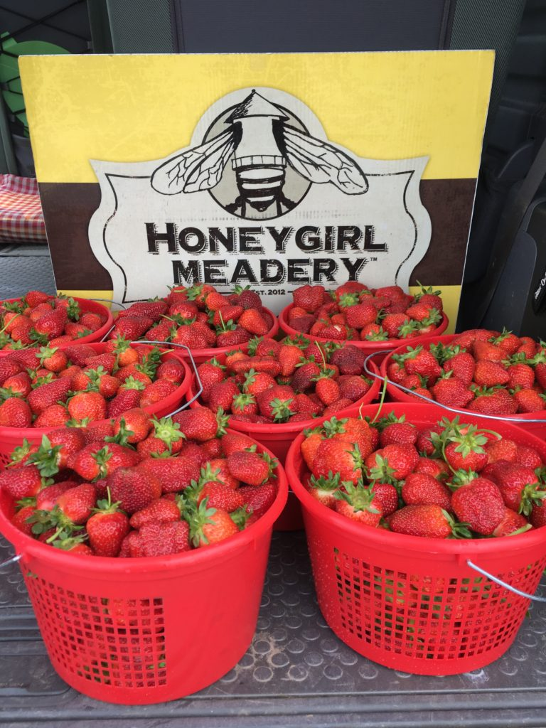 mead strawberry honeygirl meadery